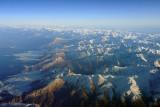 Caucasus Mountains, Russia-Georgia border