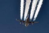 USAF C-17 over northern Iraq