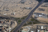 Kuwait - Sixth Ring Road / Airport Road interchange