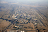 Kuwait International Airport, looking south