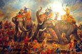 Elephant battle - fall of Ayutthaya, 1569