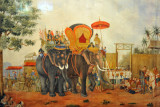 King Rama I returns from Cambodia to face riots in Thon Buri