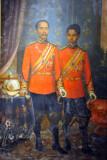 King Chulalongkorn, Rama V (left), 1853-1910
