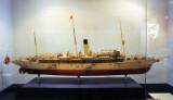 Model of the second Maha Chakri Royal Barge, 1918