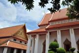Side of the Buddhaisawan Chapel