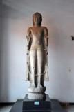 Standing Buddha, Dvaravati style from Wat Mahathat, Sukhothai, 8th-9th C.