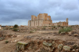 The theater district of Sabratha is set apart from the main ruins around the ancient forum