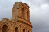 Restoration of the Roman Theater of Sabratha took place in the 1920s