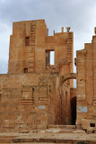 West entrance, Theater of Sabratha