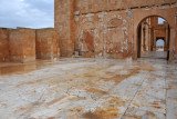 West side patio of the Roman Theater of Sabratha