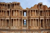 Roman Theater of Sabratha, by far the most impressive monument