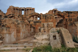 Theater of Sabratha from the south side
