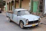 An old beat-up Peugeot, Al Khoms