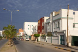 شارعالفاتح - Main street of Al Khoms