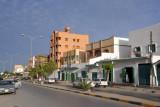 Main street of Al Khoms