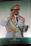 Qadhafi in full uniform, Green Square