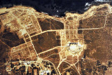 Aerial photo of Sabratha, Museum of Libya
