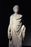 Statue of young man wearing a chlamys, 2nd C. AD, Hadrianic Baths, Leptis Magna