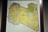 Map of Libya - Museum of Libya