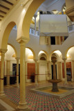 Fountain court, Museum of Libya