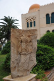 Sculpture outside the Museum of Libya