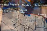 Emirates flight from Dubai to Tripoli, Libya