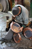 Craftsman at work, Souq Al-Ghizdir
