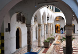 One of the courtyards of Souq Al-Attara, Tripoli