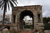 Arch of Marcus Aurelius, 163 AD