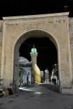Gate to the Tripoli Medina at night