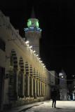 Ahmed Pasha Karamanli Mosque at night