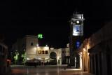 Clock Tower Square at night, Tripoli Medina