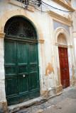 Doorways in the old Tripoli Medina