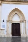 Main door of the Anglican Church, Tripoli Medina