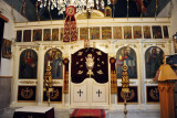 Altar of the Painted interior of the Greek Orthodox Church of St. George, Tripoli