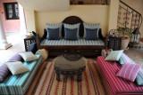 Arabic-style sitting area, Hotel Al Khan