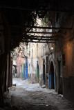 Shaded alley, Tripoli Medina
