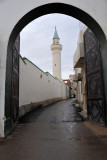 Looking west through the Iron Gate to Draghut Mosque