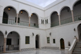 Courtyard built by the ruling family Al Qurmanlyah, who ruled Libya 1711-1835