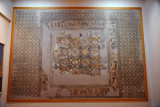 Roman mosaic on the right side as you enter the Jamahiriya Museum