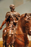 Equestrian statue of Charles III, King of Naples, Sicily and Spain, attributed to Tommaso Solari ca 1762