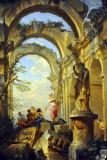 Ruins with Sybil, Giovanni Paolo Panini, 1731