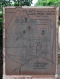 Map of the Qutub Minar Complex