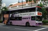 Double decker bus, Singapore