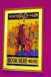 P&O poster, Raffles Hotel