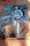 Botticelli in chalk, Singapore