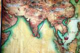 Trade routes linking east and west Asia
