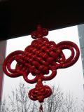 Xiang Yang market gateway decorated for Chinese New Year