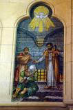 Christchurch Cathedral mosaic, Visiting the Imprisoned