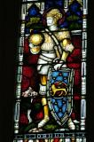 Christchurch Cathedral, stained glass - Joshua